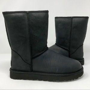 UGG AUSTRALIA Classic Short Leather Boots Sz 8